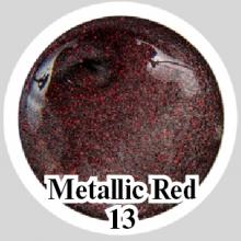 Магнитный гель Metallic Red 13