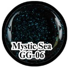 Глиттерный гель Mystical Collection Mystic Sea GG-06