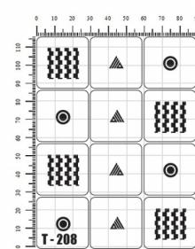 Трафареты для аэрографии Т - 208