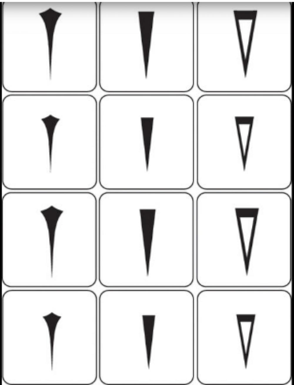 Трафареты для аэрографии Т - 212
