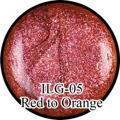 Гель Хамелеон Red to Orange ILG-05