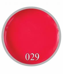 Гель краска №29 Красно-яркий