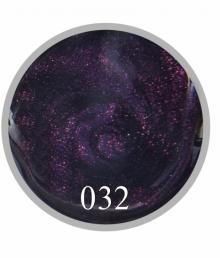 Гель краска №32 Мерцающий баклажан