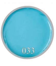 Гель краска №33 Нежно голубая