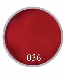Гель краска №36 Красный классический