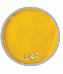 Гель краска №37 Желтый