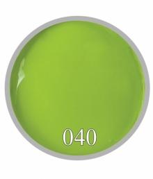 Гель краска №40 Салатовый