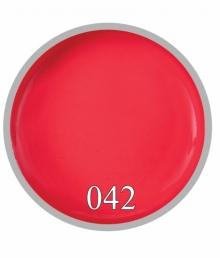Гель краска №42 Яркий коралл