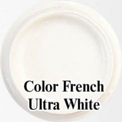 Биогель для французкого маникюра Color French Ultra White