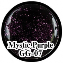 Глиттерный гель Mystical Collection Mystic Purple GG-07