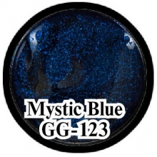 Глиттерный гель Mystical Collection Mystic Blue GG-123