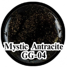 Глиттерный гель Mystical Collection Mystic Antracite GG-04
