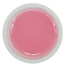 Розовый прозрачный