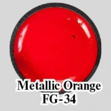 Цветной гель Metallic Orange FG-34