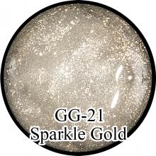 Глиттерный гель Sparkle Gold GG-21
