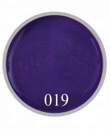 Гель краска № 19 Мерцающий фиолет