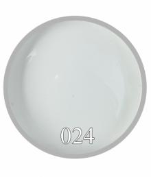 Белая гель краска №24