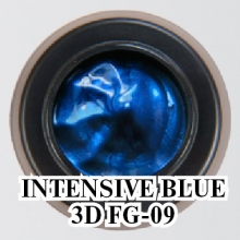 3D гель Intensive Blue 3D FG-09