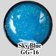 Глиттерный гель Sky Blue GG-16