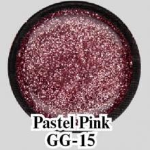 Глиттерный гель Pastel Pink GG-15