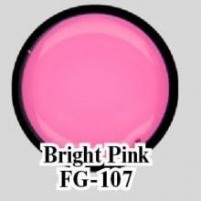 Цветной гель Bright Pink FG-107