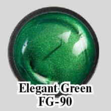 Цветной гель Elegant Green FG-90