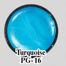 Цветной гель Turquoise PG-16